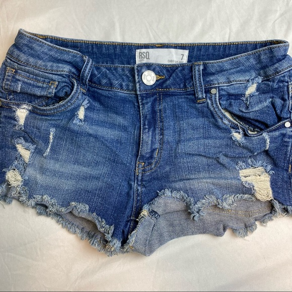 RSQ booty shorts size 7